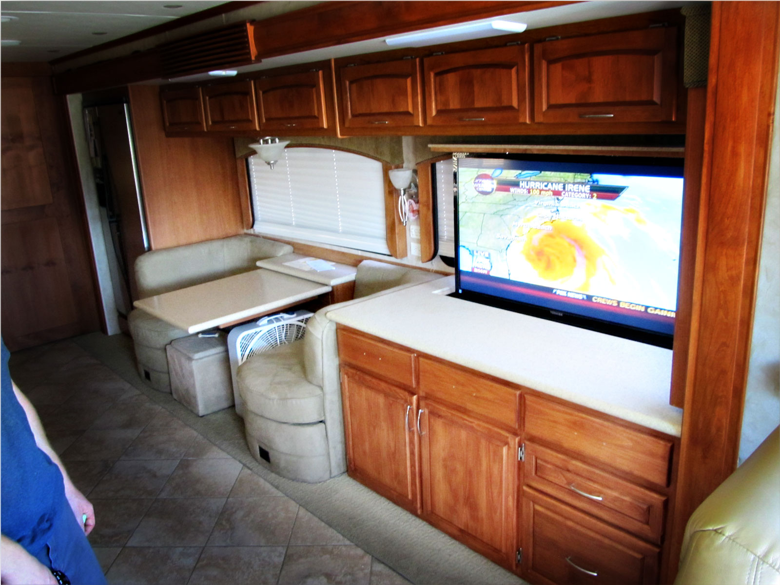 rv cabinets and storage systems rv kitchen cabinets Custom Overhead Storage