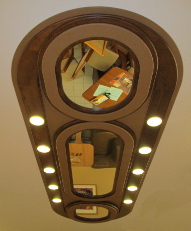 Lighted Decorative Ceiling Panel
