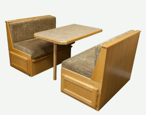 Custom Built Dinette Booth - RV Furniture