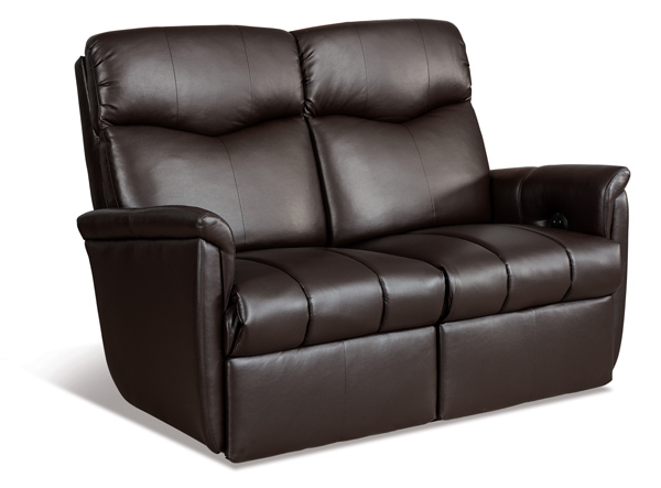 Lux Wall Hugging Reclining Loveseat