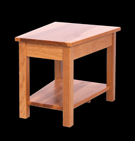 Wood-Classic-Pie-End-Table