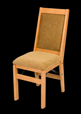 Full Back Folding Dinette Chair