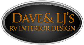 RV Furniture and RV Remodel by Dave and LJ's RV Interior Design company serving RV owners in the USA