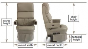 RV Captain's Chair Measurement Guide